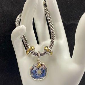 Brighton Custom Made Flower Love Bracelet